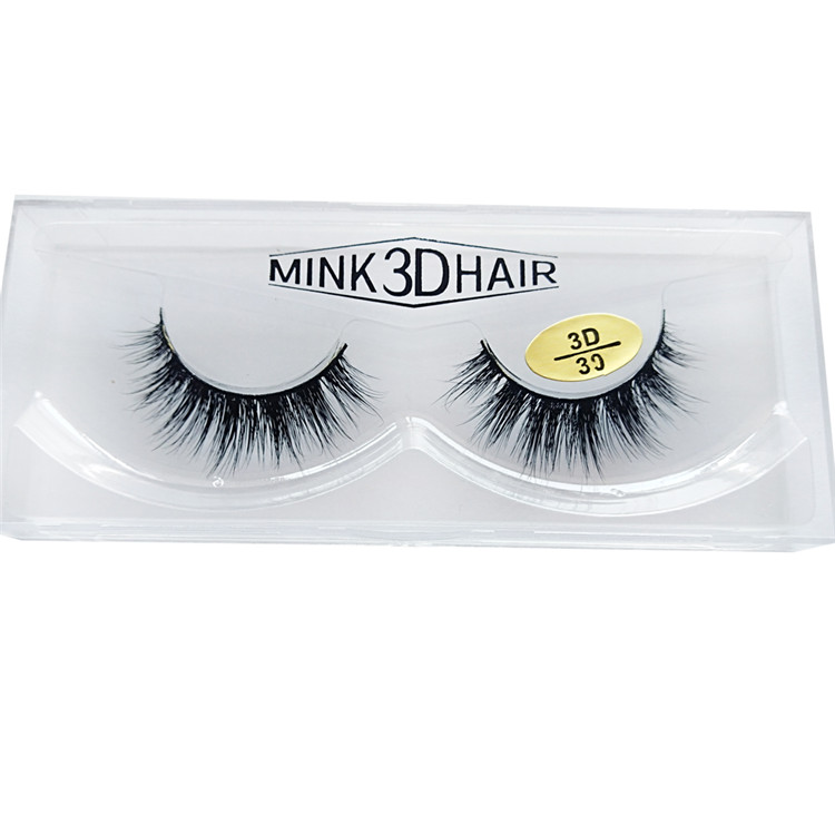 Reusable Private label mink fur lashes JH-PY1