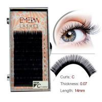 Permanent Single fake eyelashes extensions JH61