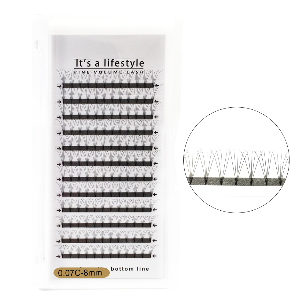 5D Pre-made fan Eyelashes Tray Individual Eyelash Extension PY1