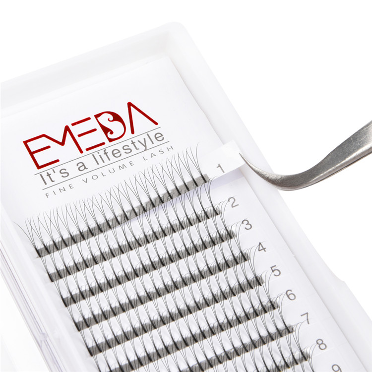 199e5076d94 Premade Flare Eyelash Extensions Competitive Price JE25 - Emeda eyelash