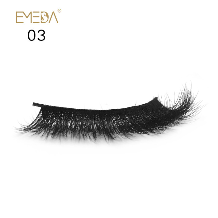 wholesale 3D private label mink eyelashes  JH81