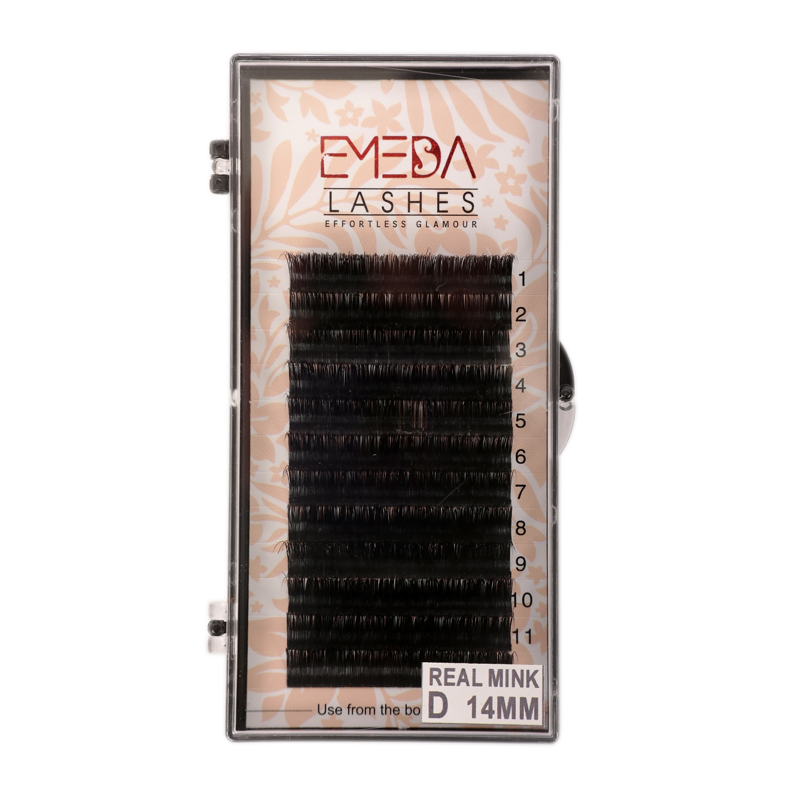 Best Eyelash Vendor Supply C and D Curl Real Mink Eyelash Extensions with ODM OEM YY76
