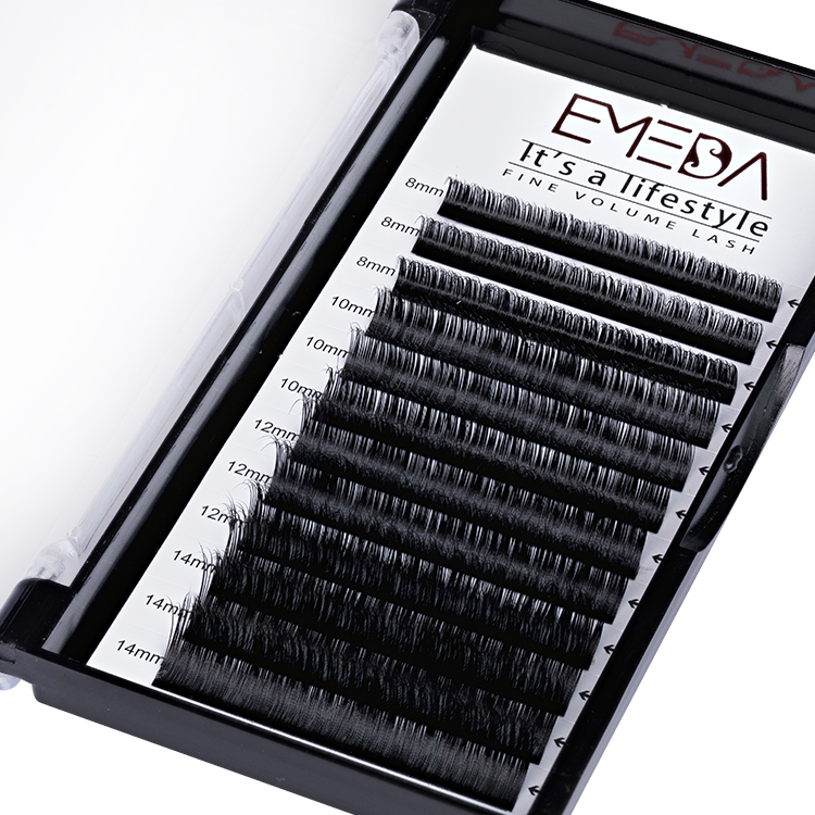 Best Wholesaler for 100% Handmade Real Mink Fur Eyelash Extension C D Curl in the UK and USA YY40