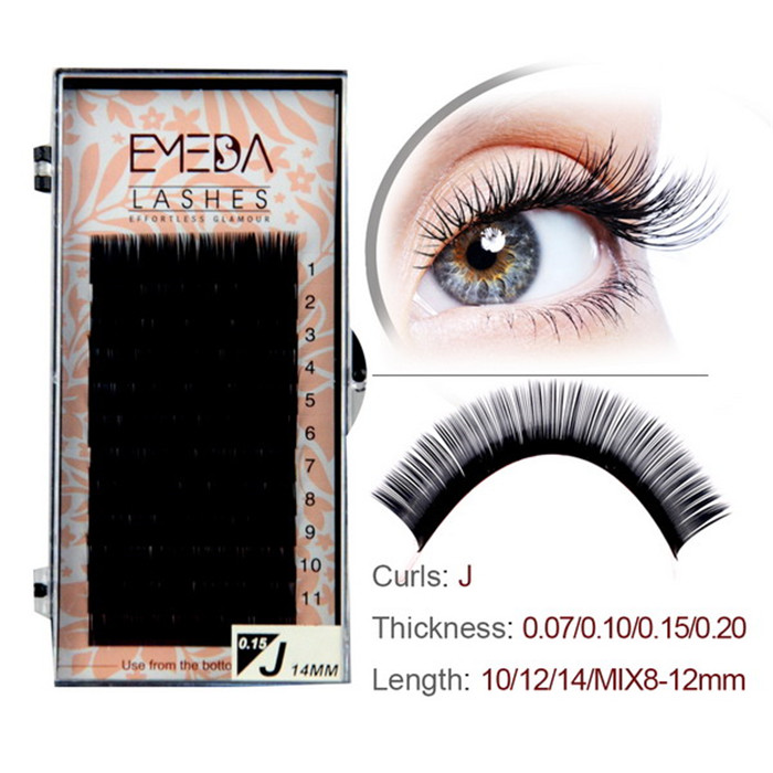 3c37e91c757 Faux Mink Single Lash Extension Eyelashes JH75-PY1 - Emeda eyelash