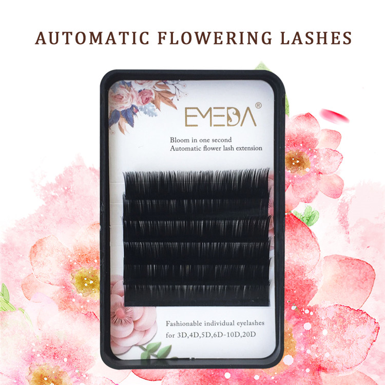 Flowering fan single lashes extension JH126