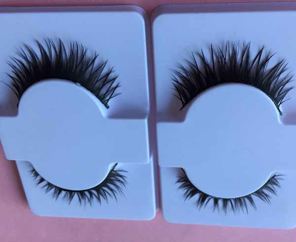 wholesale sharpened synthetic eyelashes L110