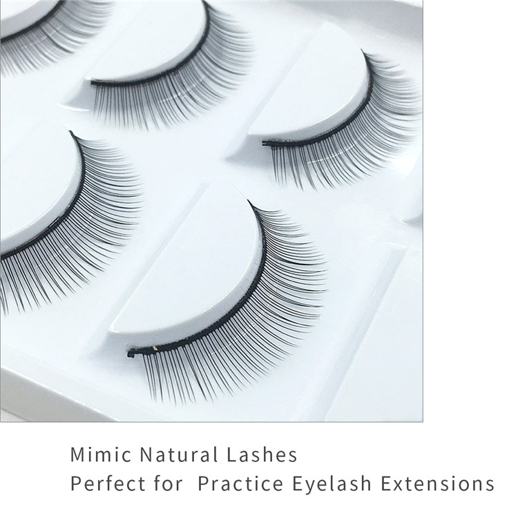 Training Eyelashes Vendors Supply Practice Eyelashes Mimic Natural Lashes PY1
