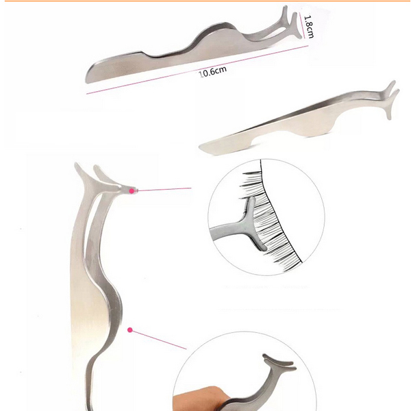 tweezer for eyelashes eyelash tweezer L88