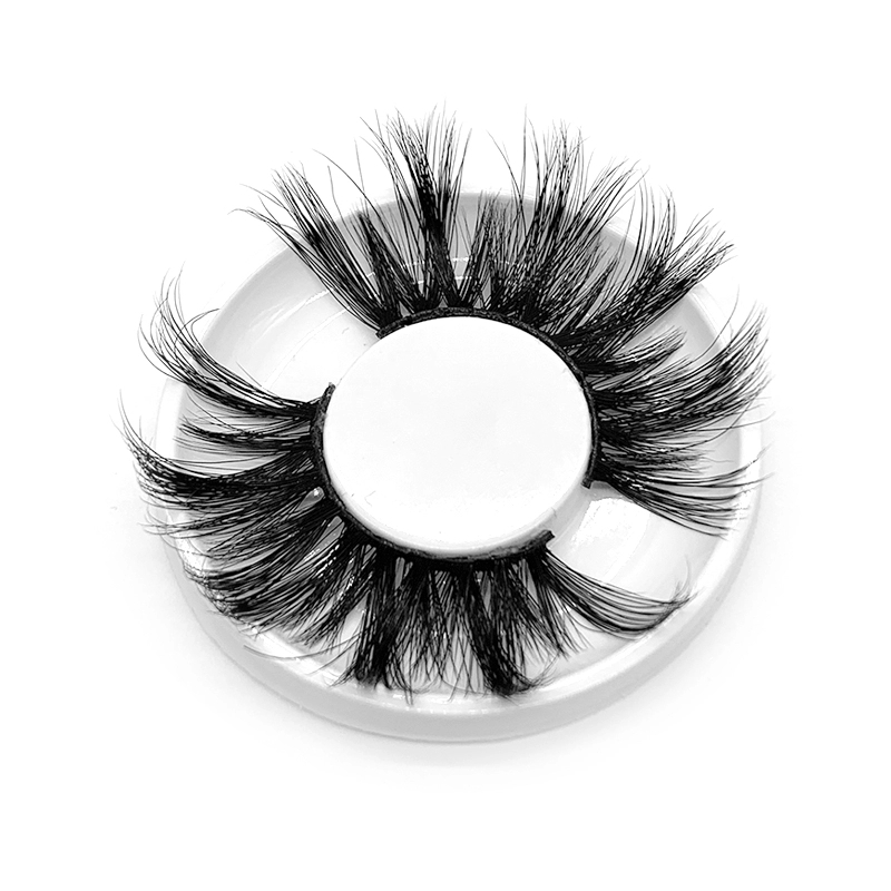 Premium Mink Lashes Wholesale 25mm Dramatic Supper Fluffy Looking EL