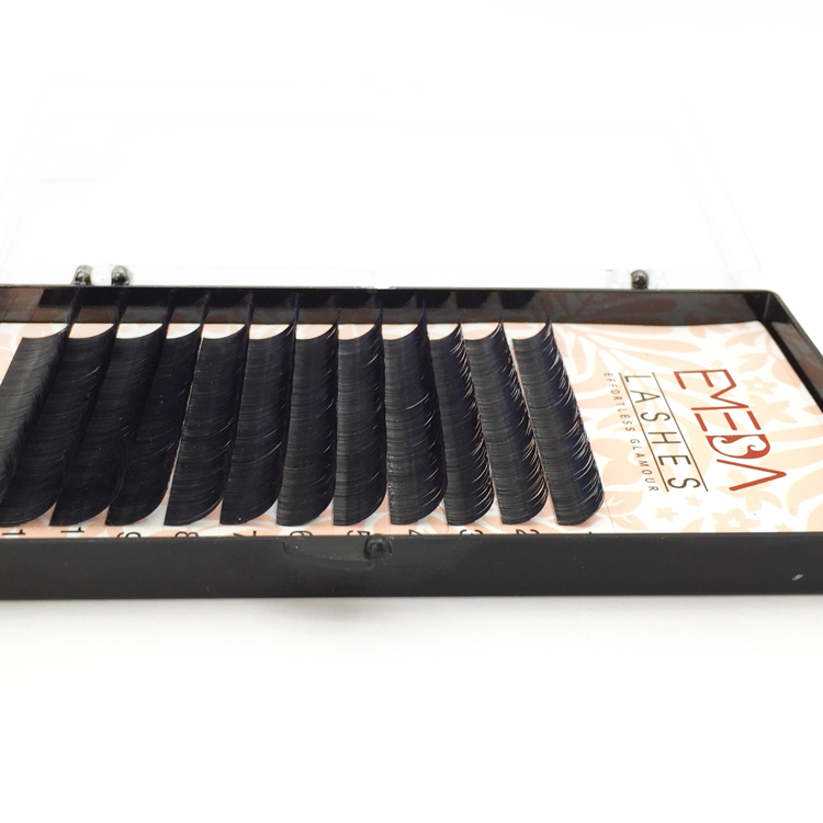 Wholesale Price  Matte Black Volume Eyelash YY01