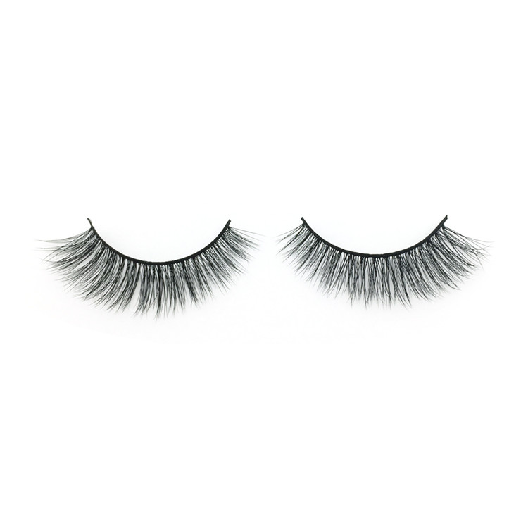 Faux Mink Lashes Wholesale Natural Looking Silk Lashes Vendor
