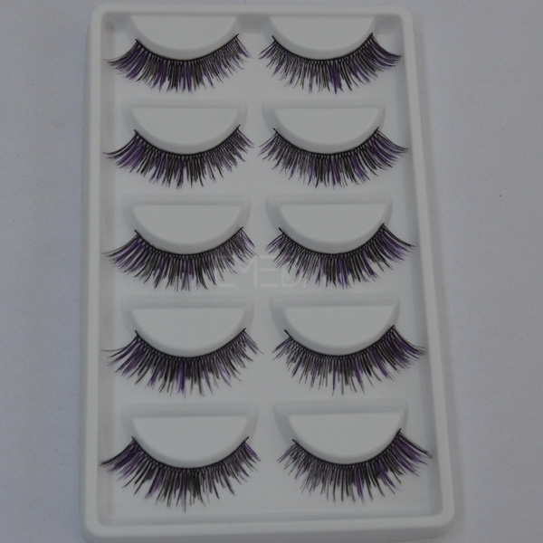 5 pairs/box synthetic false eyelashes L70