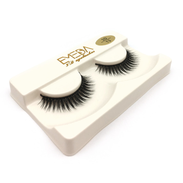 3D synthetic fiber silk eyelash JH192
