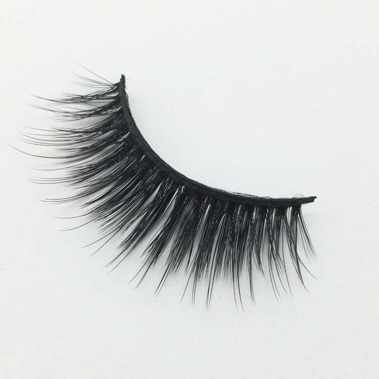 3d silk lashes private label lashes false eyelashes faux mink lash XJ06