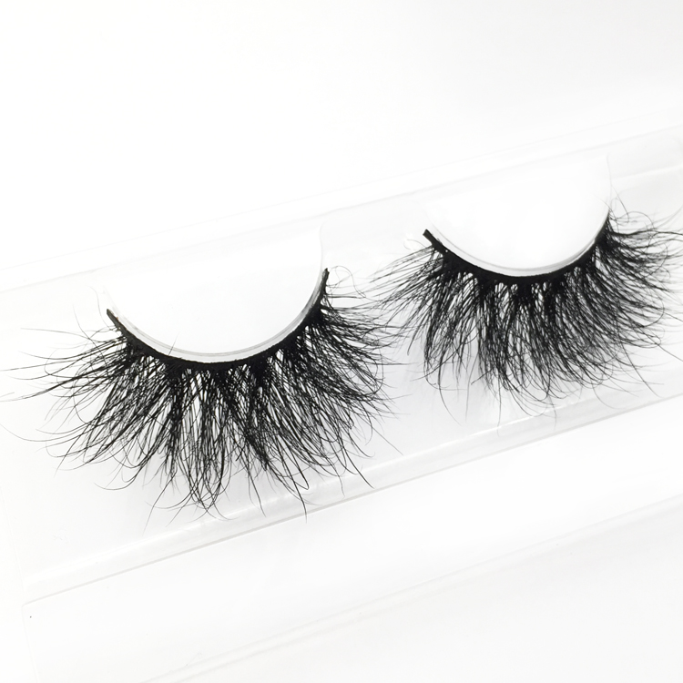Wholesale price strip 25mm 3D mink eyelash  JH-PY1