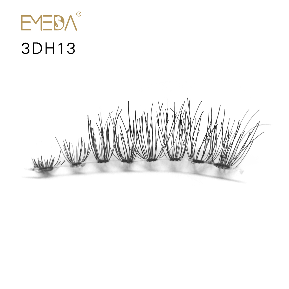 Strip Eyelash 3D Human Lash Eyelash Glue And Tools JE56