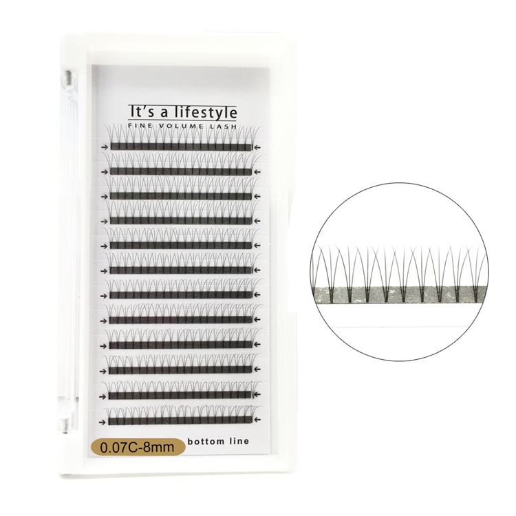 Premade Russian Volume Lashes Volume Lash Extensions Cluster Lashes YL04