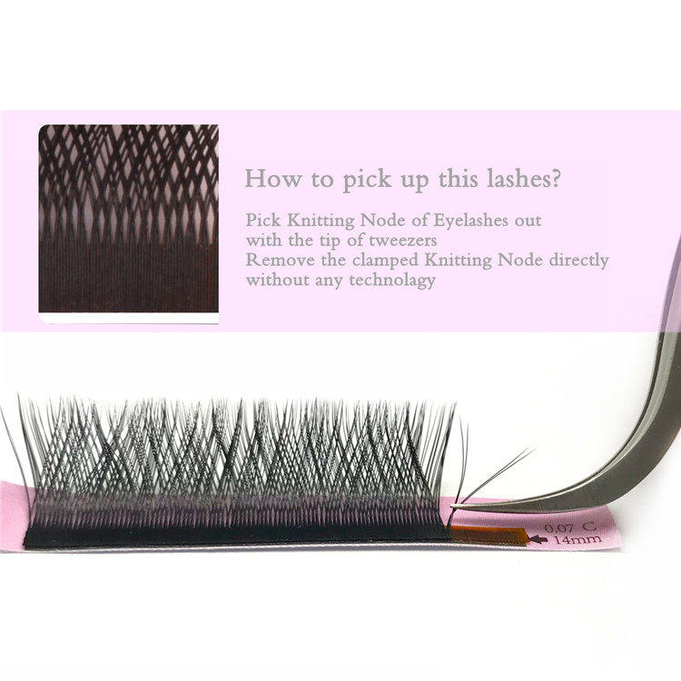 Y Shape Premade Volume Lash Rapid Blooming Eyelash Extensions