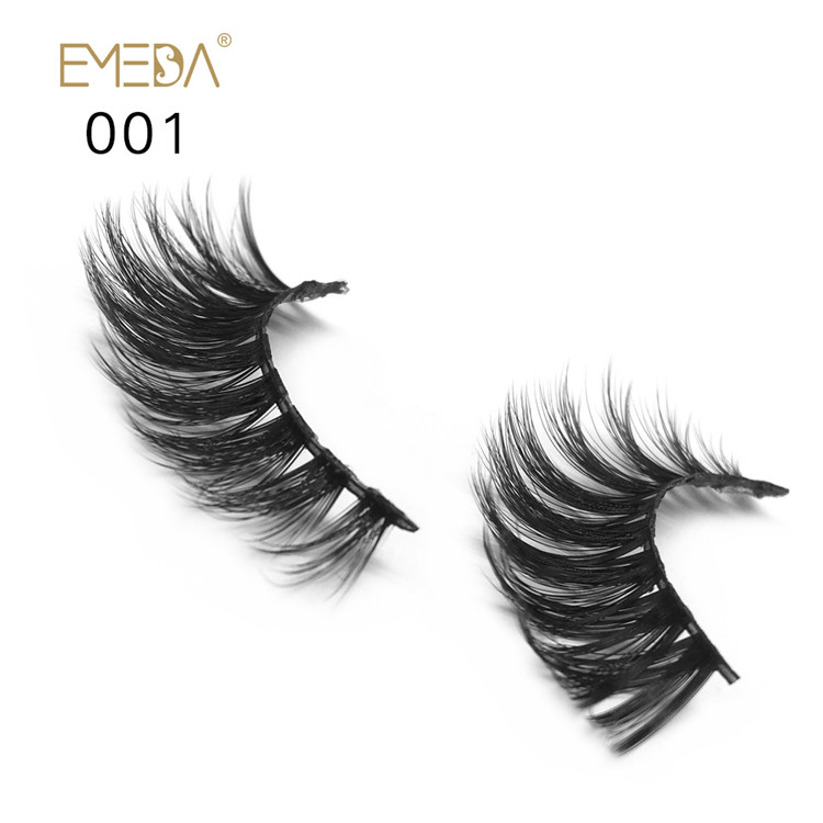 Faux Human Hair Eyelashes  PY1