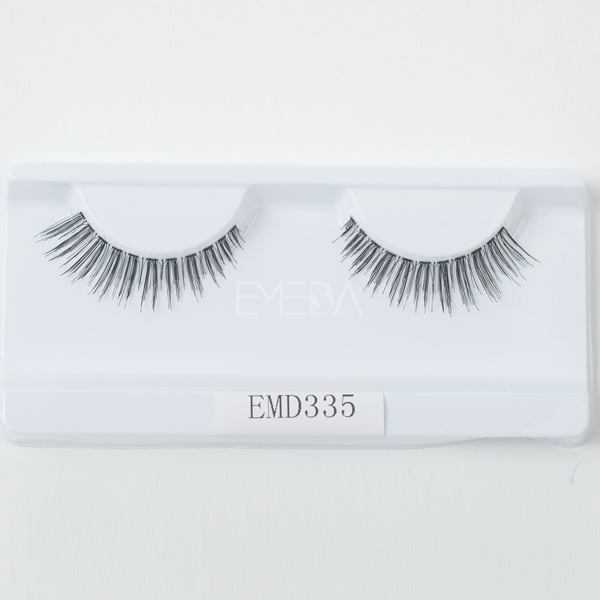 natural soft eyelashes like human hair lashesL85