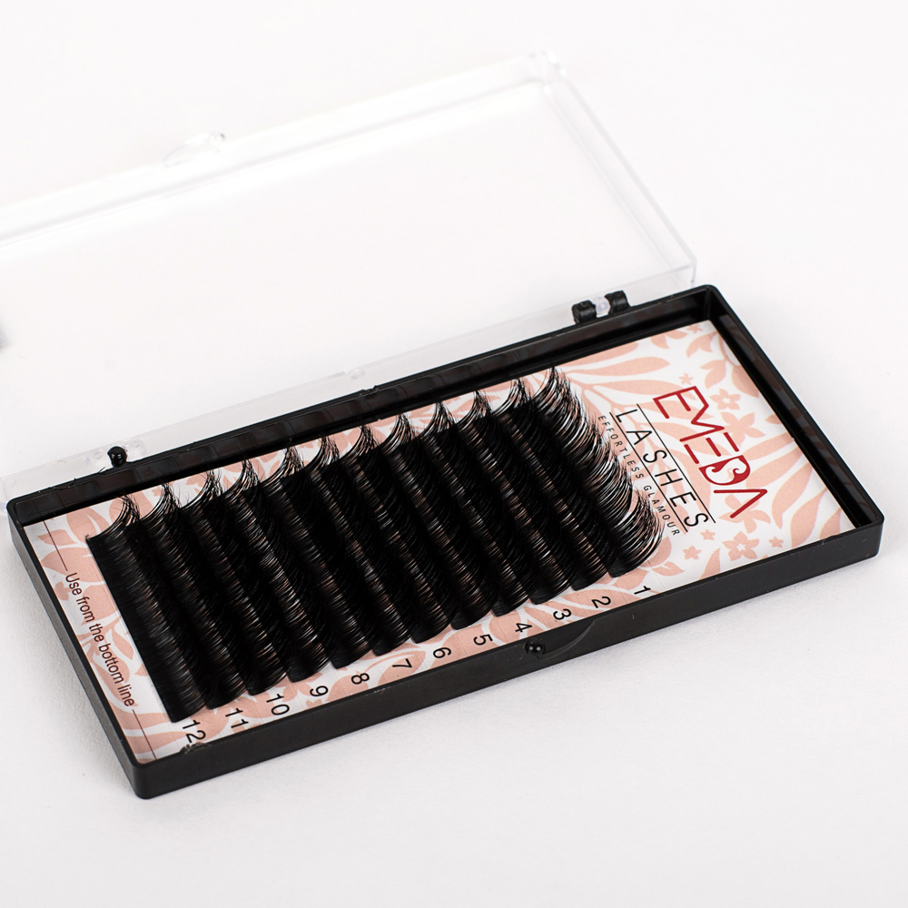 1e7e2369c43 Natural Silk Eyelash Synthetic Mink Lashes Extension SN-PY1 - Emeda ...