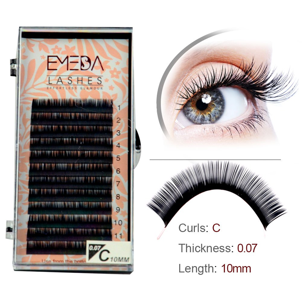 Factory Wholesale Price Individual Eyelashes ODM OEM Accepted YY08
